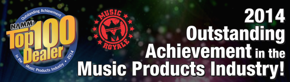 Music Royale store banner